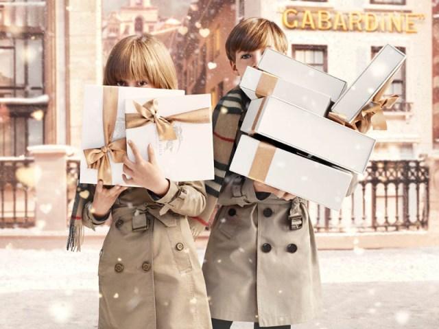 Burberry Christmas campaign 2013