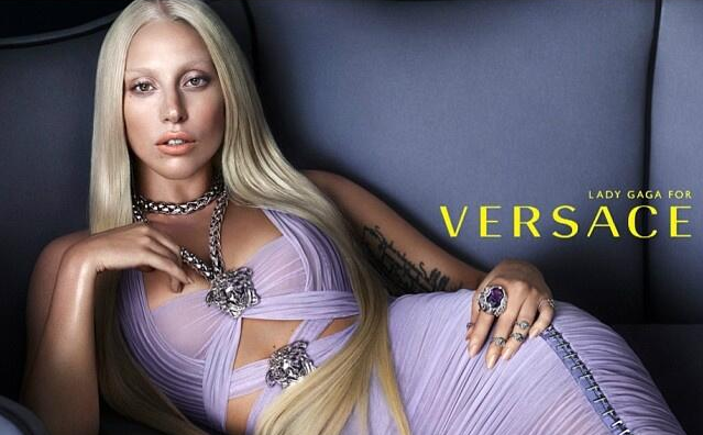 Versace SS14 Campaign with Lady Gaga