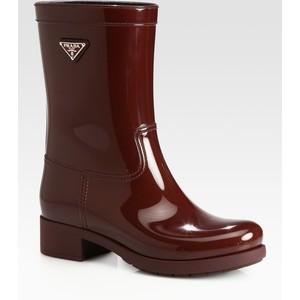 Prada Rain Boots