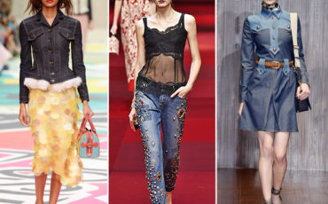 Denim trend spring 2015